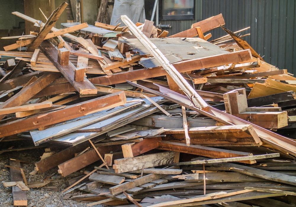 statybinių atliekų rūšiavimas